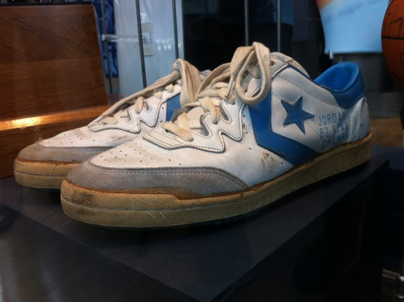 Michael Jordan Displays at the Carolina Basketball Museum (1)
