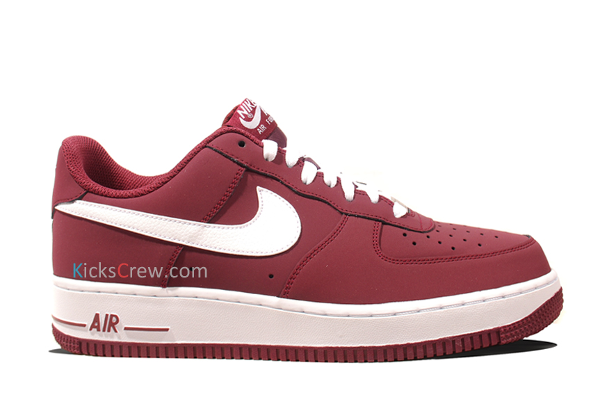 new products 2f028 56470 Nike Air Force 1 Low - Cherrywood Red | Sole Collector