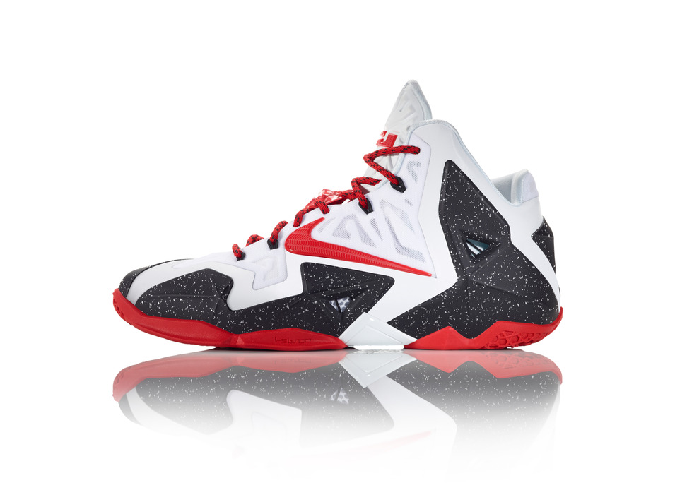 Nike LeBron 11 iD Preview Heat alternate