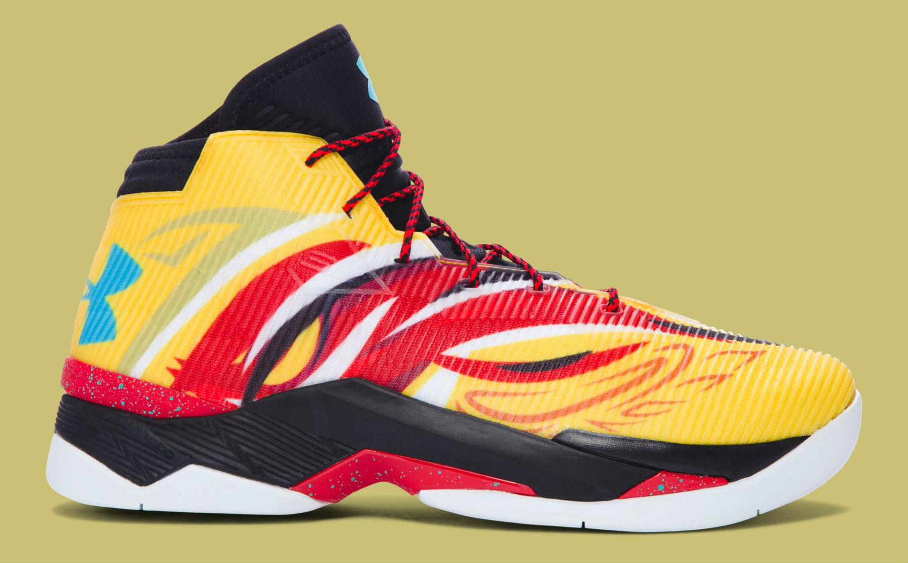 Under Armour Curry 2.5 China Tour Monkey King Side 1288403-750