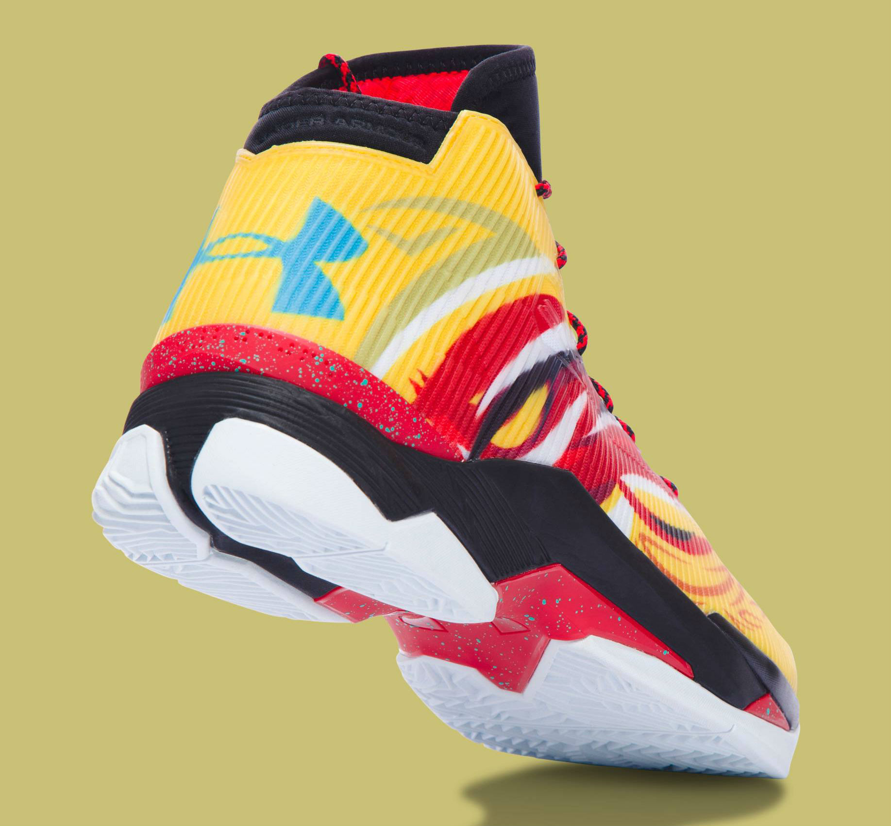 Under Armour Curry 2.5 China Tour Monkey King Heel 1288403-750