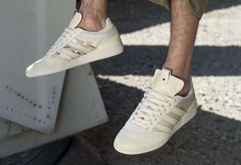 UNDFTD Adidas Busenitz Camo On Feet Pair