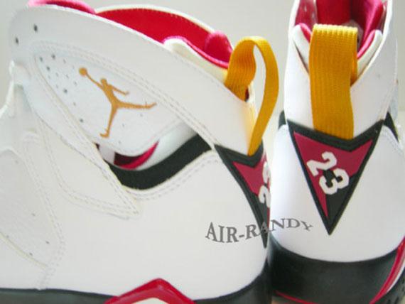 7103ff1e292d Closer look at the timeless  Cardinal  Air Jordan Retro 7. Set to make a  return this June.