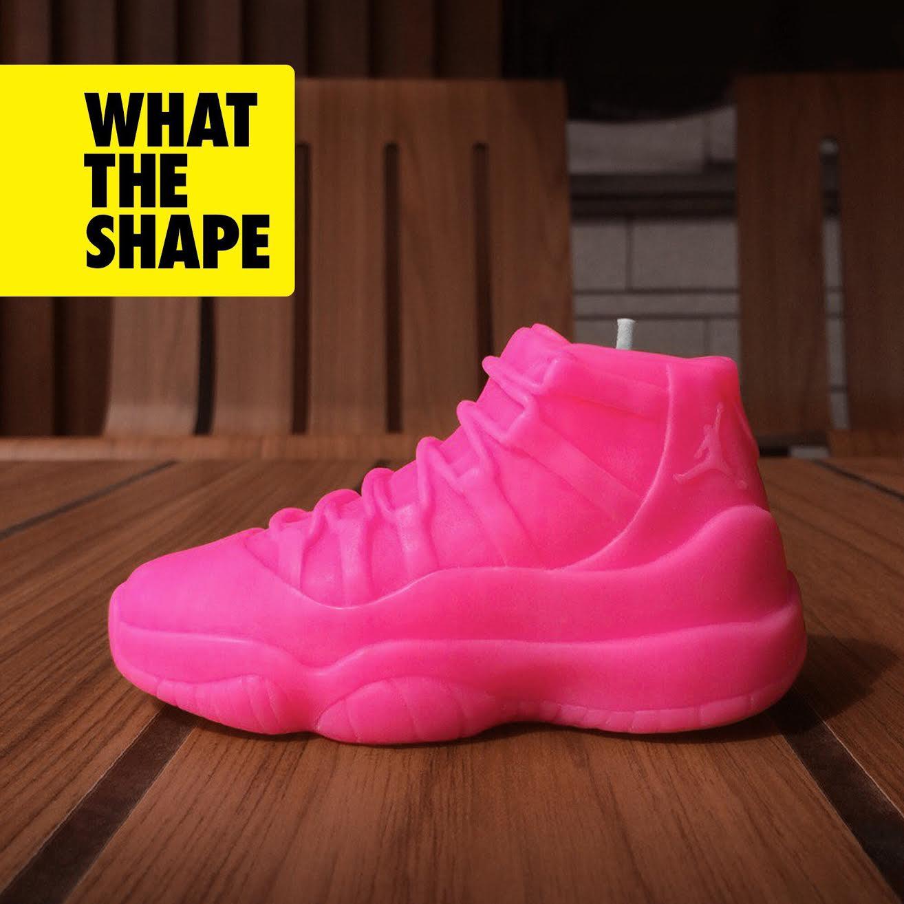 WHATTHESHAPE Jordan 11 Pink Candle