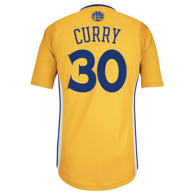 c14ea8b123b adidas adizero Short Sleeve Jerseys for the Golden State Warriors Swingman  (2)