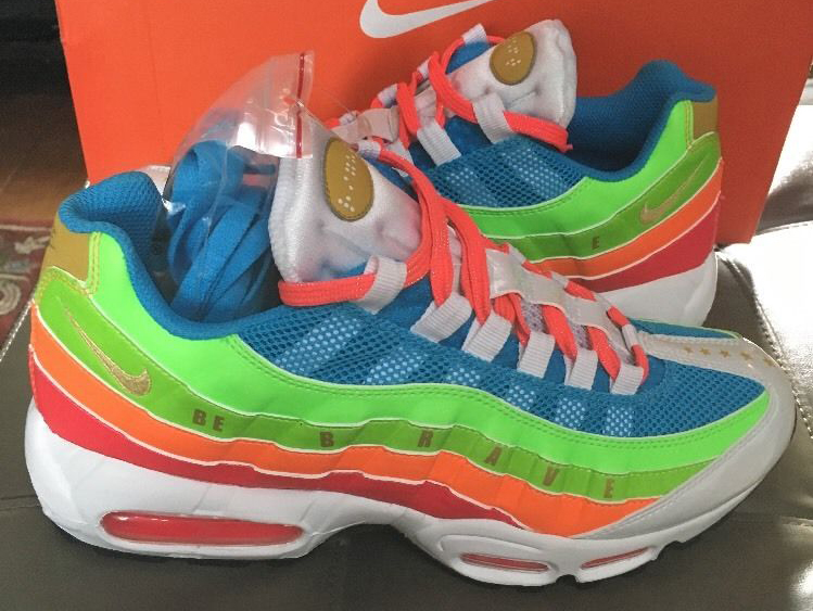Doernbecher Nike Air Max 95 Sample | Sole Collector