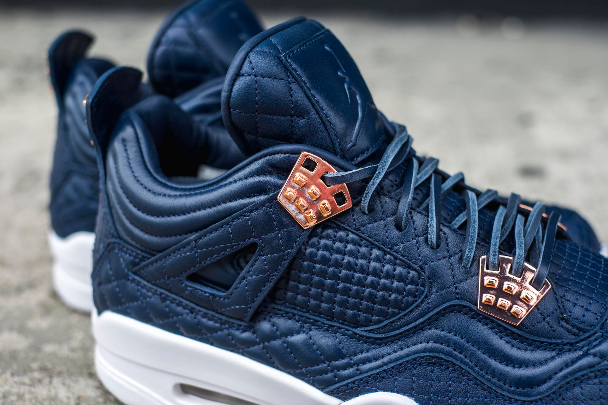 info for da1c0 50af7 Air Jordan 4 Navy Pinnacle 3 ...