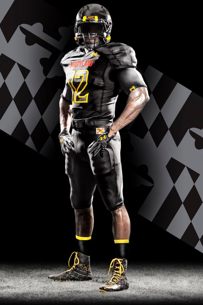 Maryland's Under Armour Black Ops Football Uniforms (1)