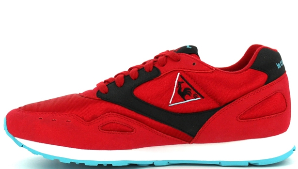 24 Kilates x Le Coq Sportif Flash Red/Black-Light Blue