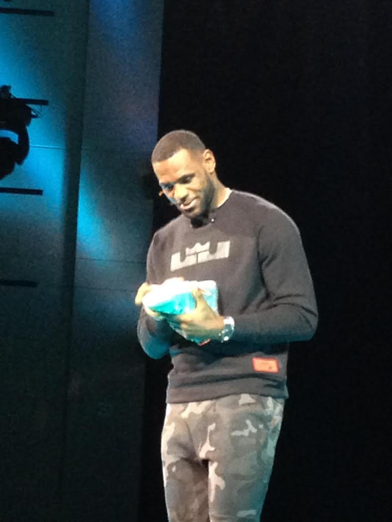 7a427d6a429 Nike LeBron 12 - Live Event Coverage