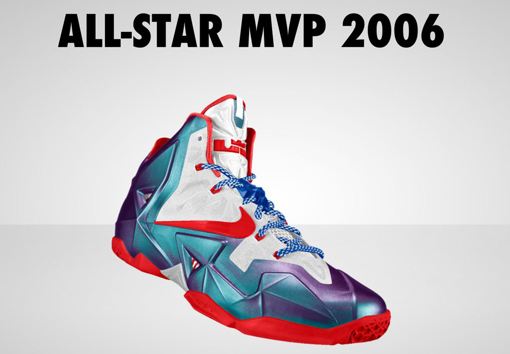best sneakers 5b740 a419d NIKEiD Concept    LeBron 11  All-Star MVP  2006   Sole Collector