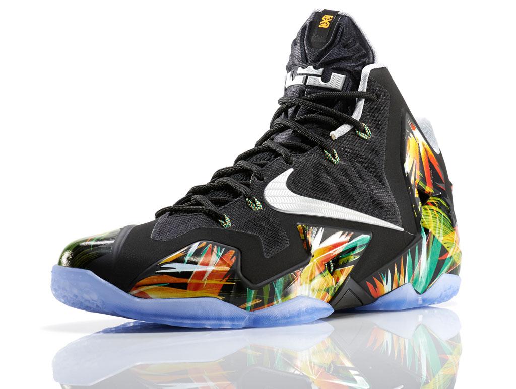 best website 570bb 0a311 Nike LeBron XI 11 Everglades (1)