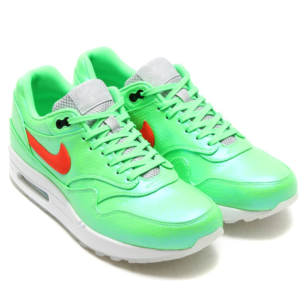 Nike Air Max 1 FB Neolime/Total Crimson