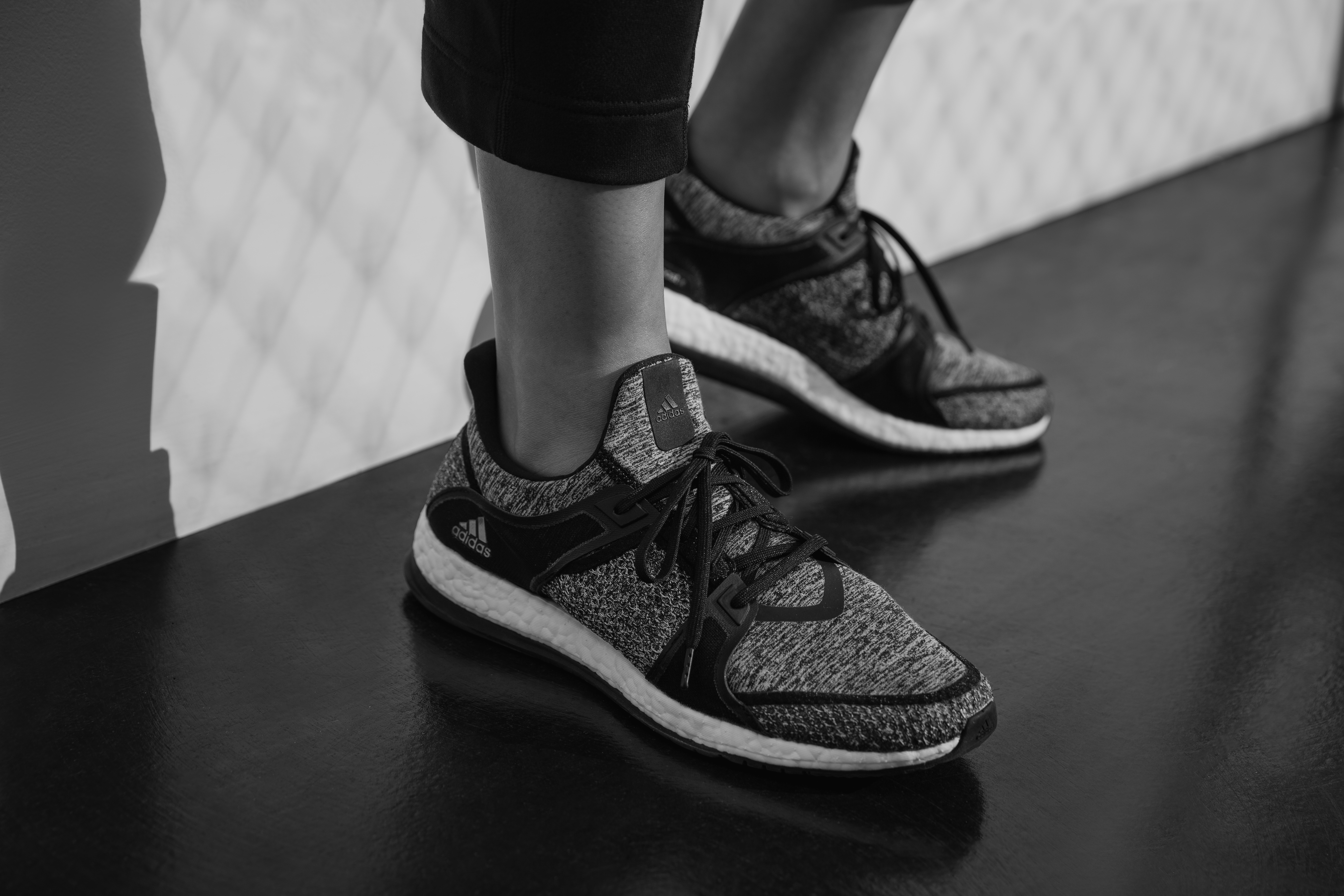 new style 9f7d7 71bd8 Adidas x Reigning Champ Pure Boost X On Feet