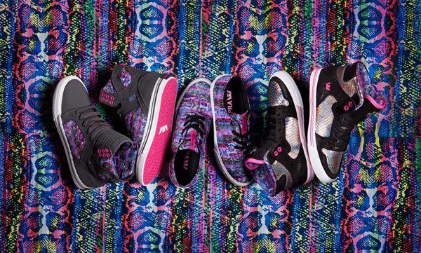 bd8f42da82f Maurizio Molin x SUPRA Footwear Women's Collection | Sole Collector