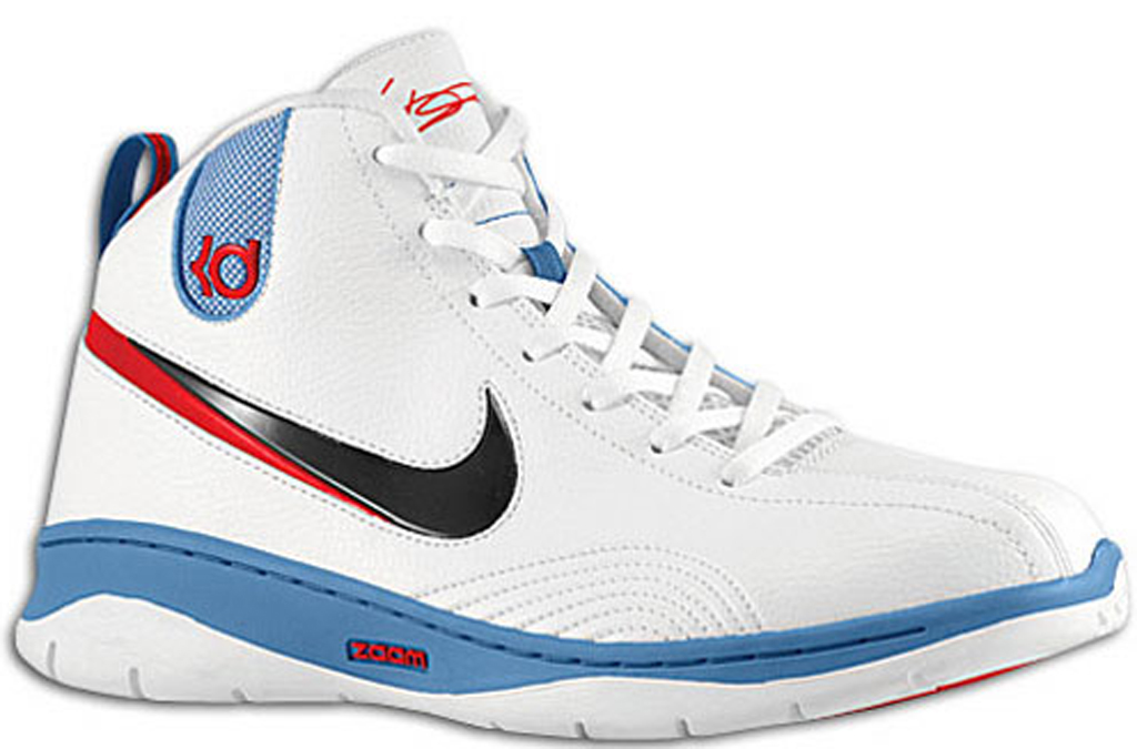 sports shoes 8d6db 302b0 Nike KD 1  OKC Home  344472-102 White Black-Italy Blue-Varsity Royal