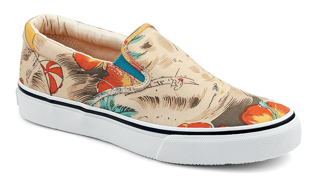 Sperry Top-Sider Hawaiian Print Striper Slip On Pack (1)