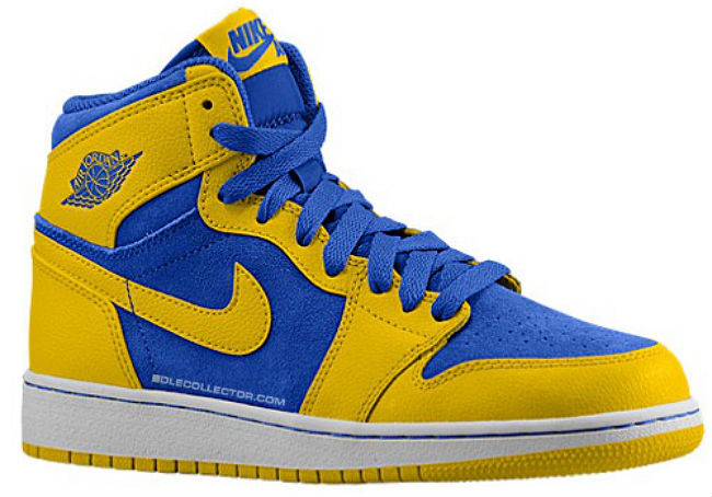 Air Jordan I 1 Retro High OG Laney 555088-707