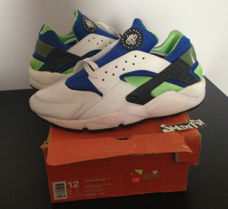 Spotlight // Pickups of the Week 5.12.13 - Nike Air Huarache LE Scream Green by jman772