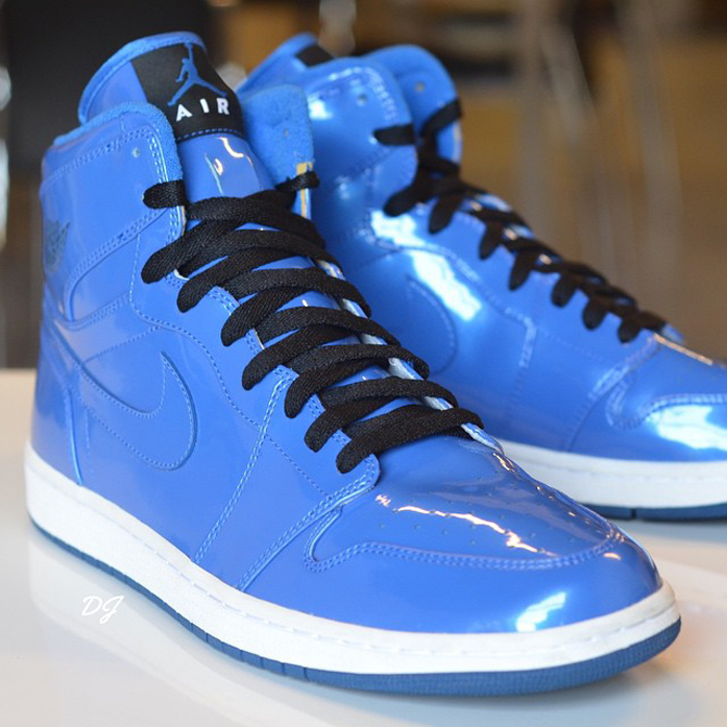 Dsm Air Jordan 1s Aren T The Only Patent Pair Out There Sole
