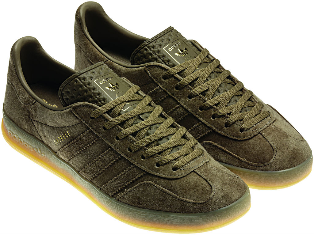 adidas Originals Gazelle Indoor Pack Spring Summer 2013 Green Q23100 (2)
