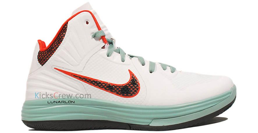 sports shoes 245bd eb533 Nike Lunar Hypergamer - White/Cannon-Black-Team Orange | Sole Collector