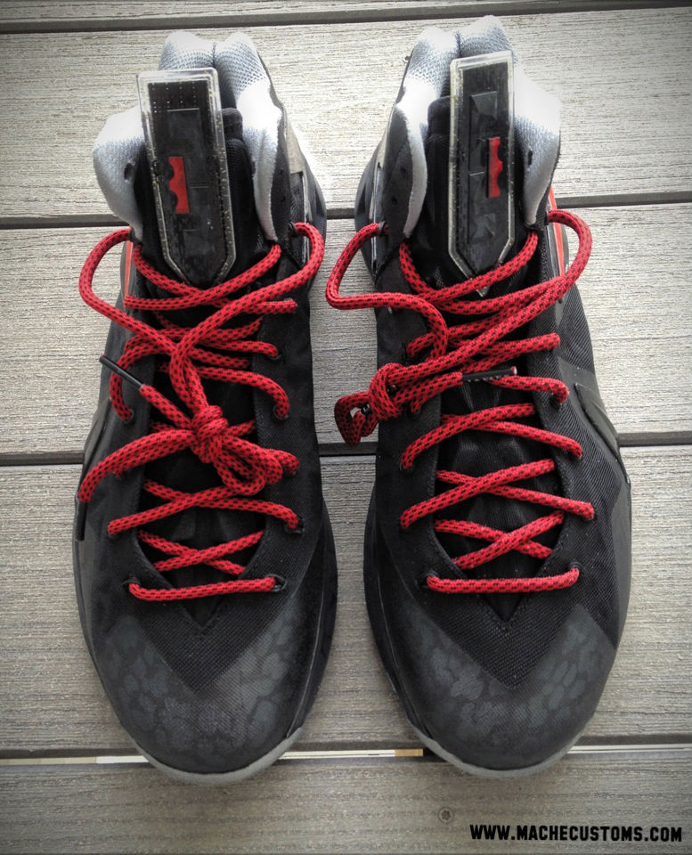 "Nike LeBron X PS Elite ""Killer Elite"" by Mache Custom Kicks (3)"