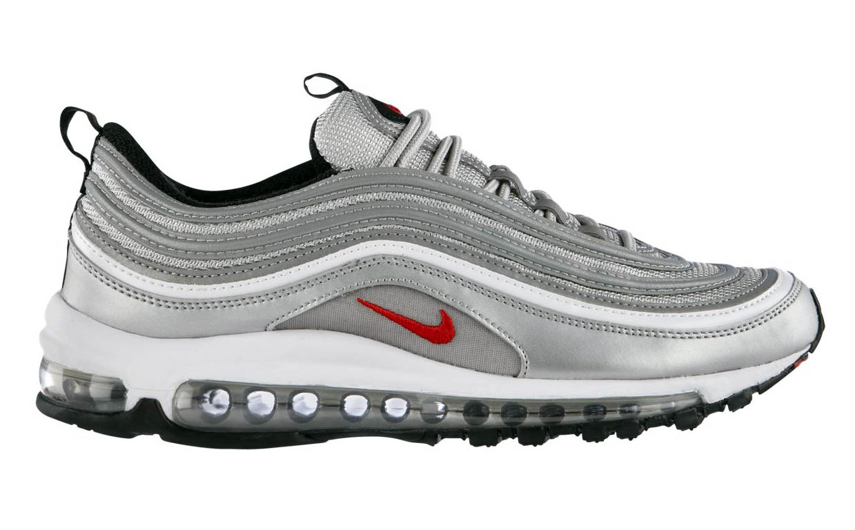 Nike Air Max 97 Metallic Silver Italy Blue