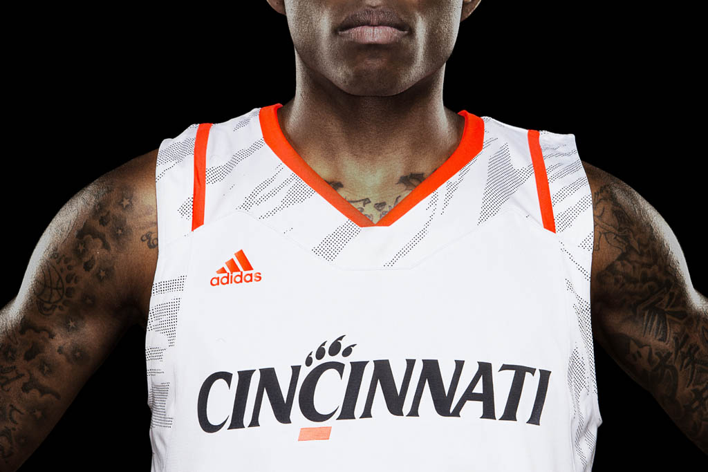adidas adiZero Basketball Uniform Cincinnati Bearcats Home