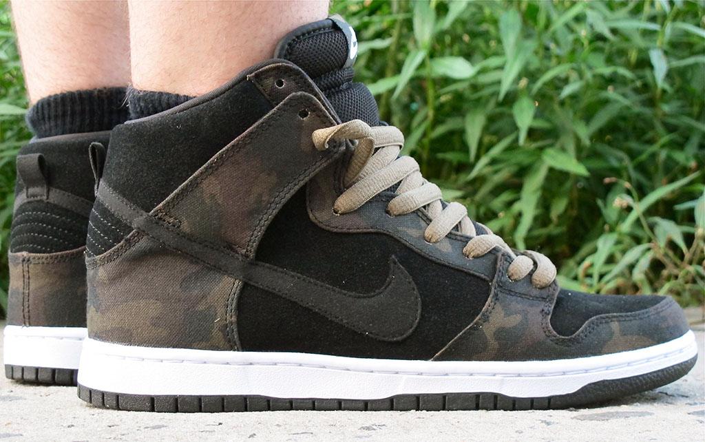 official photos 8c3a6 233f2 Nike SB Dunk High - Camo