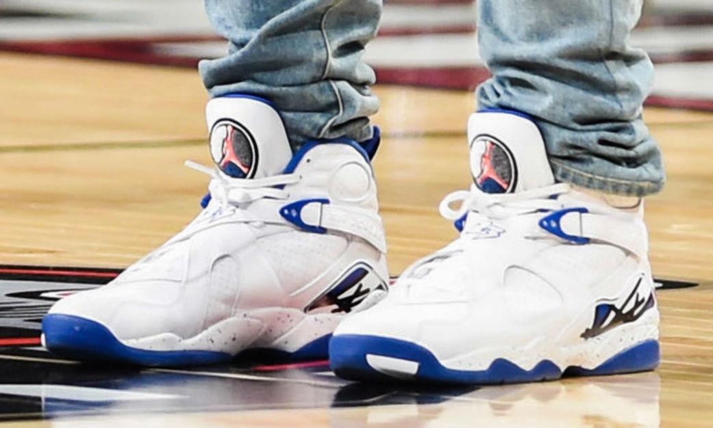Drake Wearing the 'Kentucky Blue' Air Jordan (3)