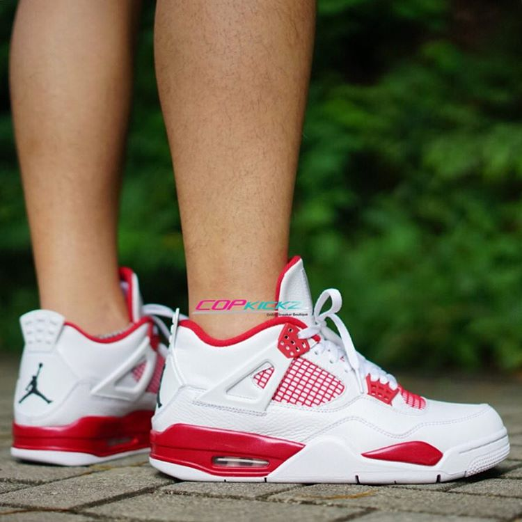 Air Jordan 4 'Alternate 89' On-Foot 308497-104 (2)