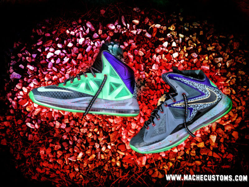 Nike LeBron X Mita by Mache Custom Kicks (1)