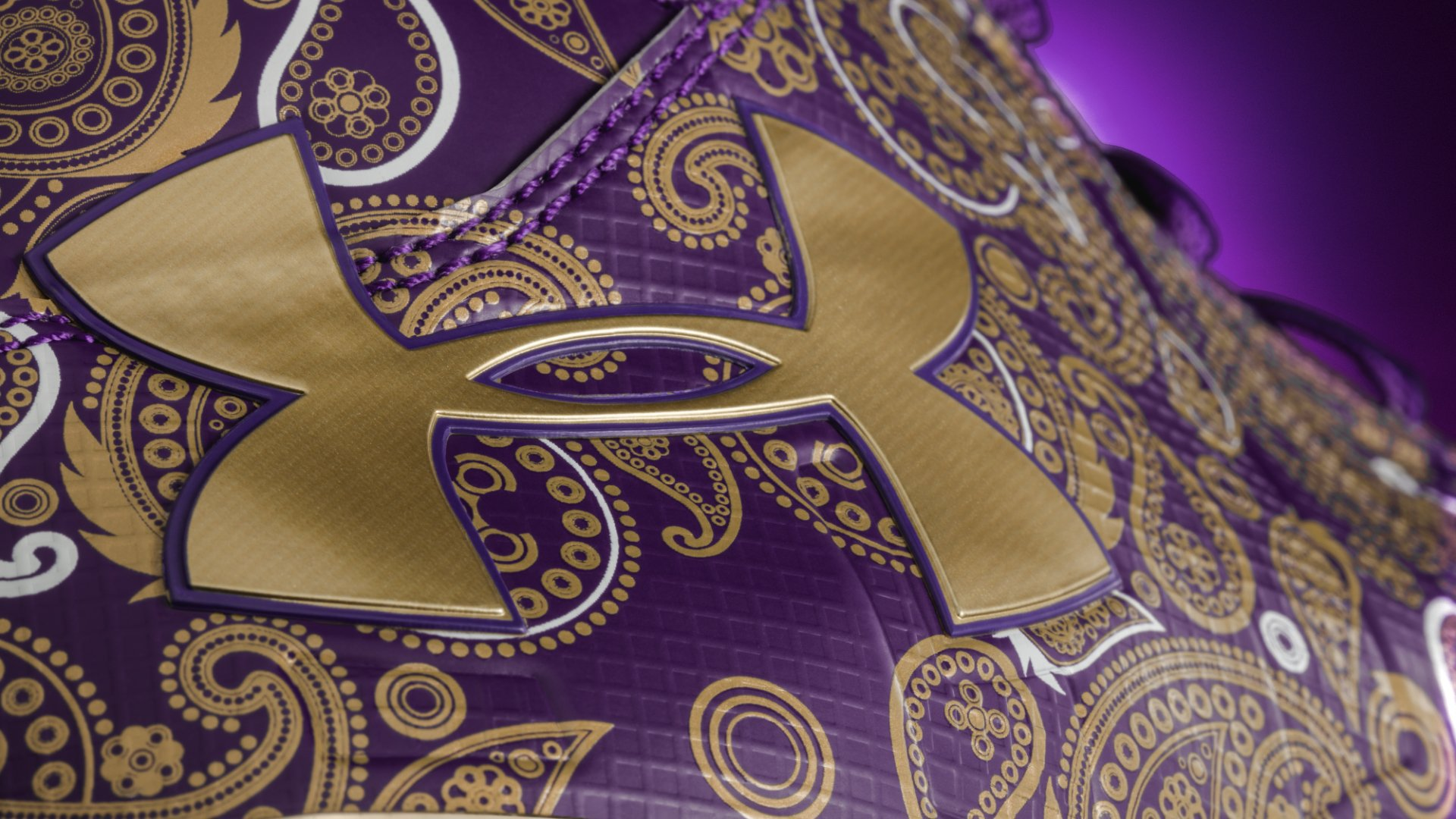 Cam Newton Prince Cleats Logo