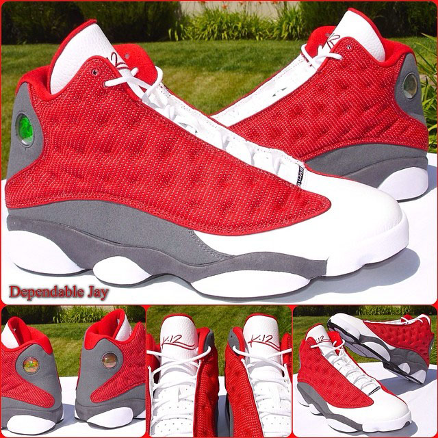 Kevin Martin Air Jordan 13 Houston Rockets PE