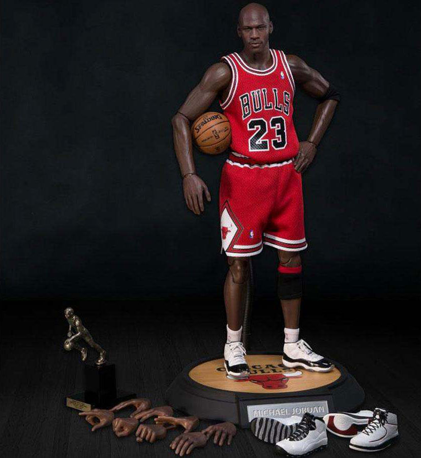 NBA x Enterbay Michael Jordan 1/6 Scale \'Away\' Figure | Sole Collector