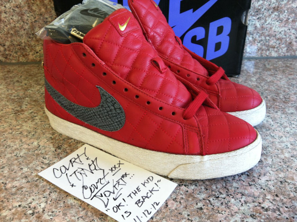 Spotlight // Pickups of the Week 11.17.12 - Supreme x Nike SB Blazer by CoVrt