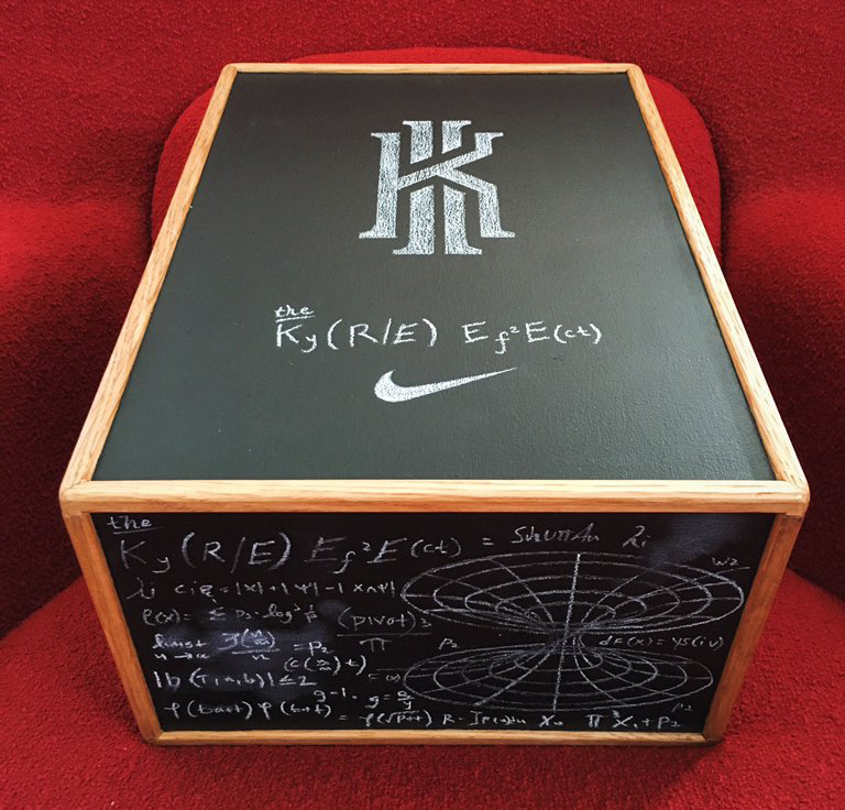 Unique Nike Made a Crazy Shoe Box for Kyrie Irving's New Campaign   Sole  XU48