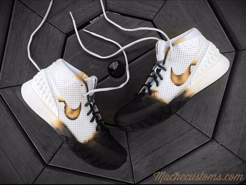 Nike Kyrie 1 55 deadilly Custom by Mache