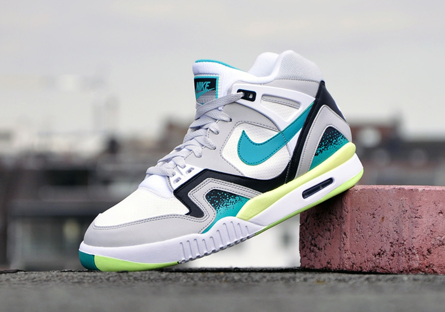 newest 06e7c ef0a0 Another Look at The  Turbo Green  Nike Air Tech Challenge II