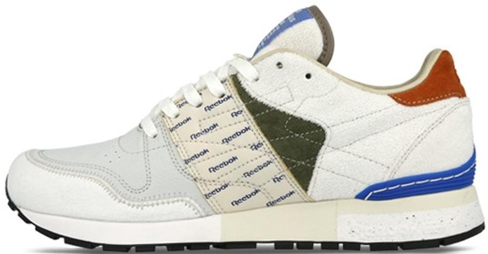 Reebok Classic Leather 6000 White/Moss Green-Blue