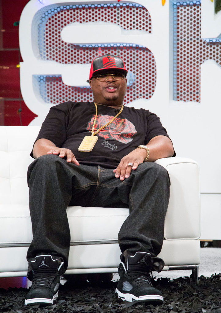 E-40 wearing Air Jordan 5 Retro Oreo