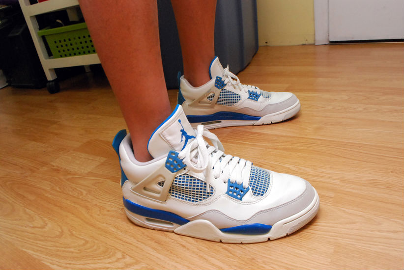 Spotlight // Forum Staff Weekly WDYWT? - 8.17.13 - Air Jordan IV 4 Retro Military by Nikolas