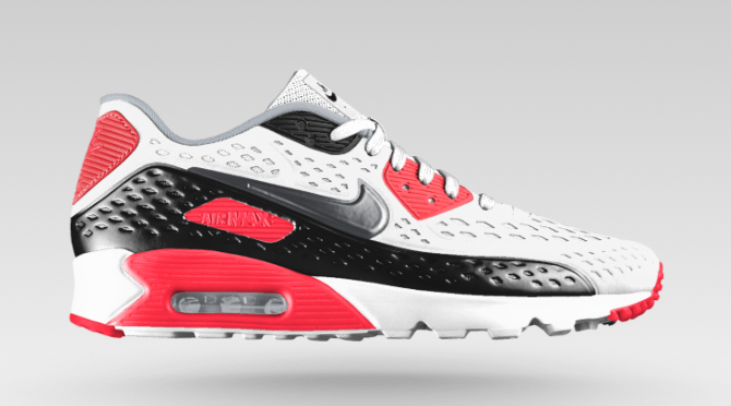 super populaire cd41e 384a6 You Can Build This 'Infrared' Air Max 90 Yourself | Sole ...