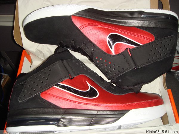 Nike Air Max LeBron Soldier V Sport Red Black 454131-600
