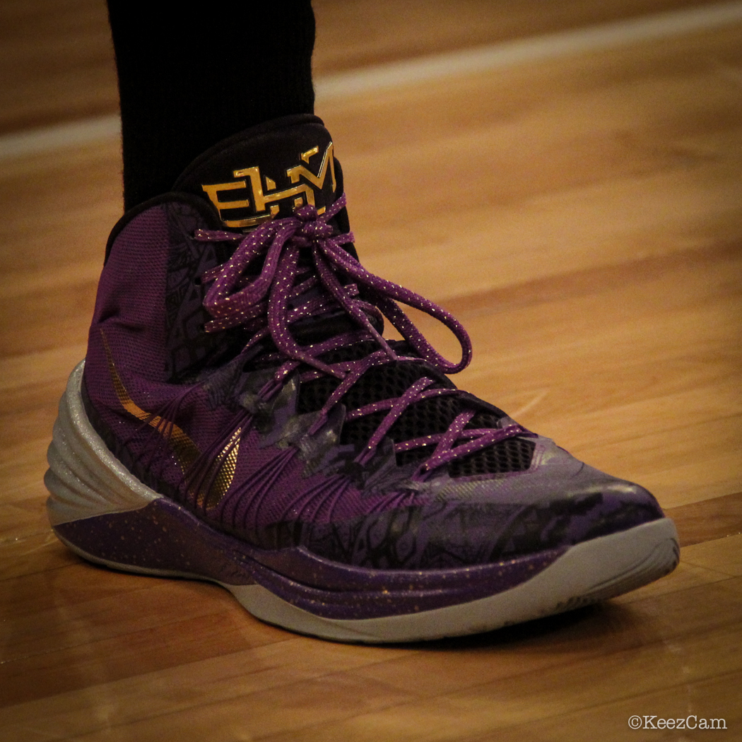 Sole Watch: Up Close At MSG for Knicks vs Nets - Shaun Livingston wearing Nike Hyperdunk 2013 BHM