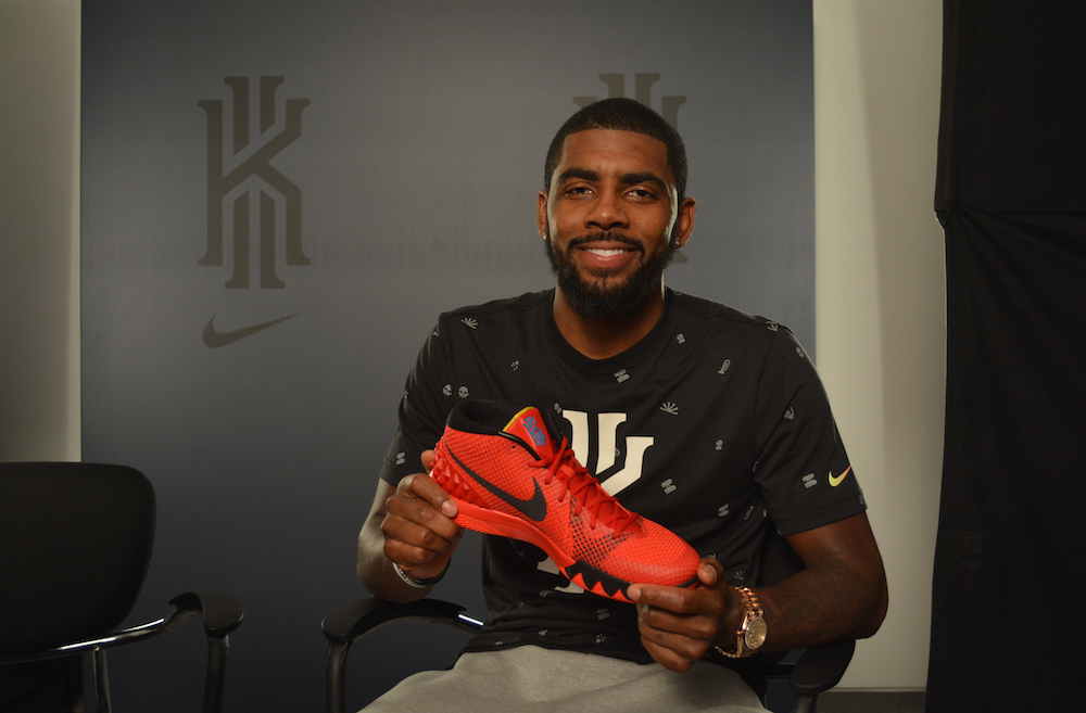 check out c6f33 4d3b3 All the details behind Kyrie Irving s first signature sneaker.