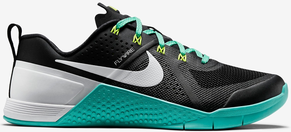 Nike Metcon 1 Women's Black/Hyper Jade-Volt-White