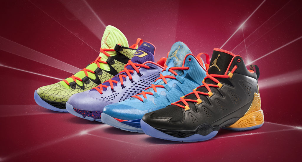 Jordan All-Star Crescent City Collection 2014: Air Jordan XX8 SE, CP3.VII, Melo M10, Super.Fly 2