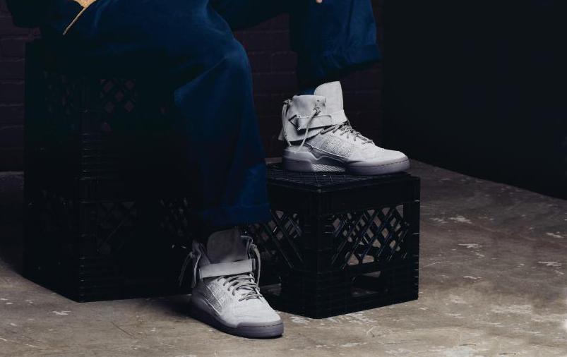 purchase cheap 792aa 76d6c Image via adidasOriginals Twitter · Adidas Forum Hi Moc Grey